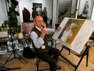 FOTO. Kunstschilder Martin Wallaert verwisselt Biechtstoelke voor Villa Ter Ide