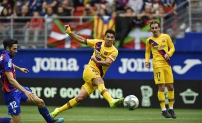 FC Barcelona zet druk op Real Madrid met vlotte uitzege in Eibar: 'GSM' scoort de doelpunten