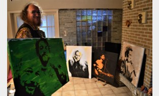 Brecht exposeert portretten voor het goede doel