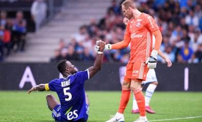 Matz Sels kan met Straatsburg niets sprokkelen tegen Marseille