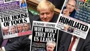 """""""The house of fools"""": zo kijken de Britse kranten naar de nieuwe Brexit-uppercut voor Boris Johnson"""