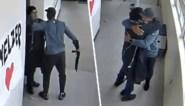 Beelden vrijgegeven van moedige tussenkomst leerkracht nadat student school binnenstapt met wapen