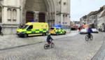 Vrouw zwaargewond na val van skywalk Sint-Romboutstoren