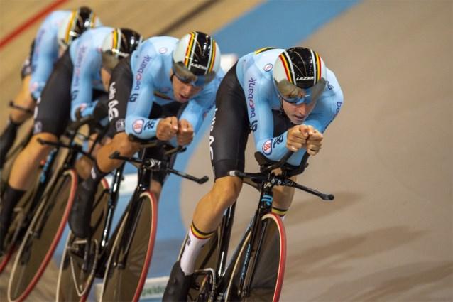 Tegenvaller voor Belgen op EK baanwielrennen: ploegkoers-titelverdediger Robbe Ghys moet forfait geven