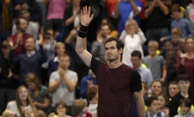 Geëmotioneerde Andy Murray wint hoogstaande finale van European Open in Antwerpen tegen Stan Wawrinka