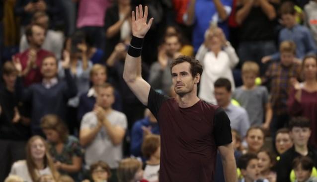 Geëmotioneerde Andy Murray wint hoogstaande finale van European Open in Antwerpen