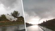 Franse gemeenten getroffen door tornado, huizen en wagens raken beschadigd