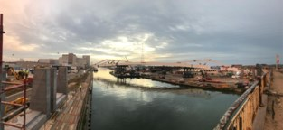 Nieuwe trambrug over Albertkanaal: 2.500 ton zwaar en 180 meter lang