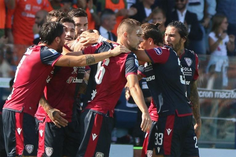 Radja Nainggolan scoort zijn eerste goal van het seizoen met fabelachtige knal in winkelhaak, Cagliari wint simpel