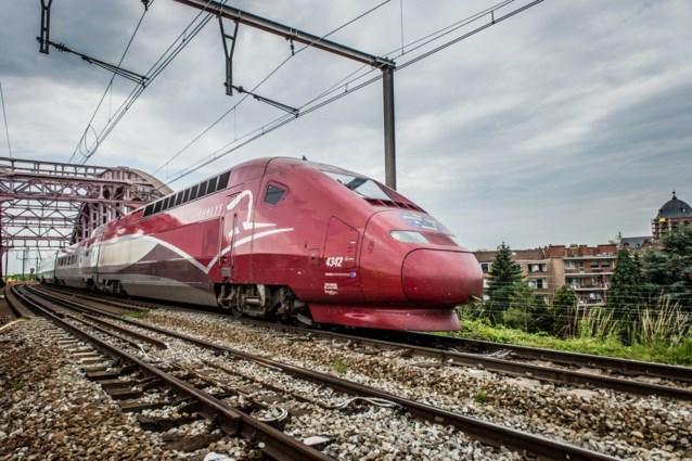Zware vertragingen voor Thalys, TGV en Eurostar na ongeval
