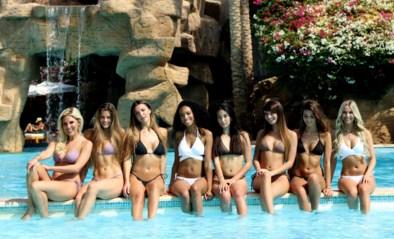 Miss België-finalistes vallen bij bosjes onder de loden zon