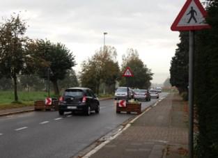 Bloembakken vertragen verkeer en verdelen files