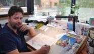 Als beginnend tekenaar stuurde Steve zijn tekeningen naar Merho om te beoordelen, nu wordt hij zijn opvolger