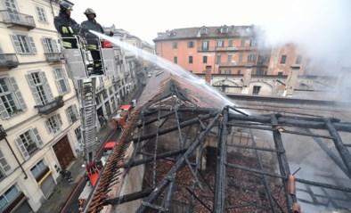 Brand zet koninklijke stallen in Turijn in vuur en vlam: Unesco-werelderfgoed in as gelegd