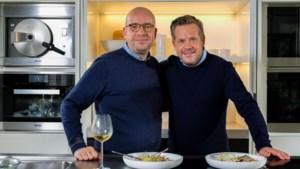 Beste vrienden Roger Van Damme en Sven Ornelis buigen zich samen over de potten in nieuw televisieprogramma bij Njam