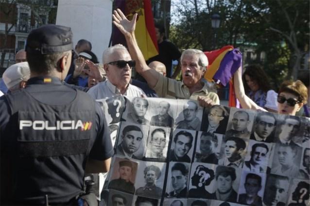 Stoffelijke resten van Franco donderdag opgegraven