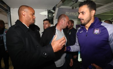 Vincent Kompany bleef in de schaduw bij Anderlecht, maar spreekt wel nog in kleedkamer