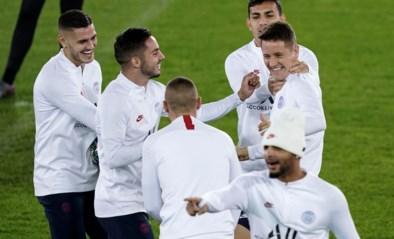 IN BEELD. Goedgemutste sterren van PSG trainen in het stadion van Club Brugge