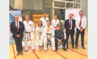 Belgisch goud voor karateclub Kazoku