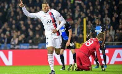 Club Brugge botst tegen PSG na rust op zijn internationale limiet, invaller Mbappé maakt er nog pijnlijke avond van