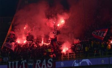 Ultra's van PSG ontsteken vuurwerk in Champions League-wedstrijd tegen Club Brugge