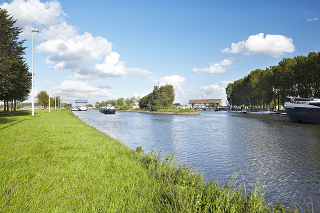 De Leie tussen Deinze en Sint-Baafs-Vijve