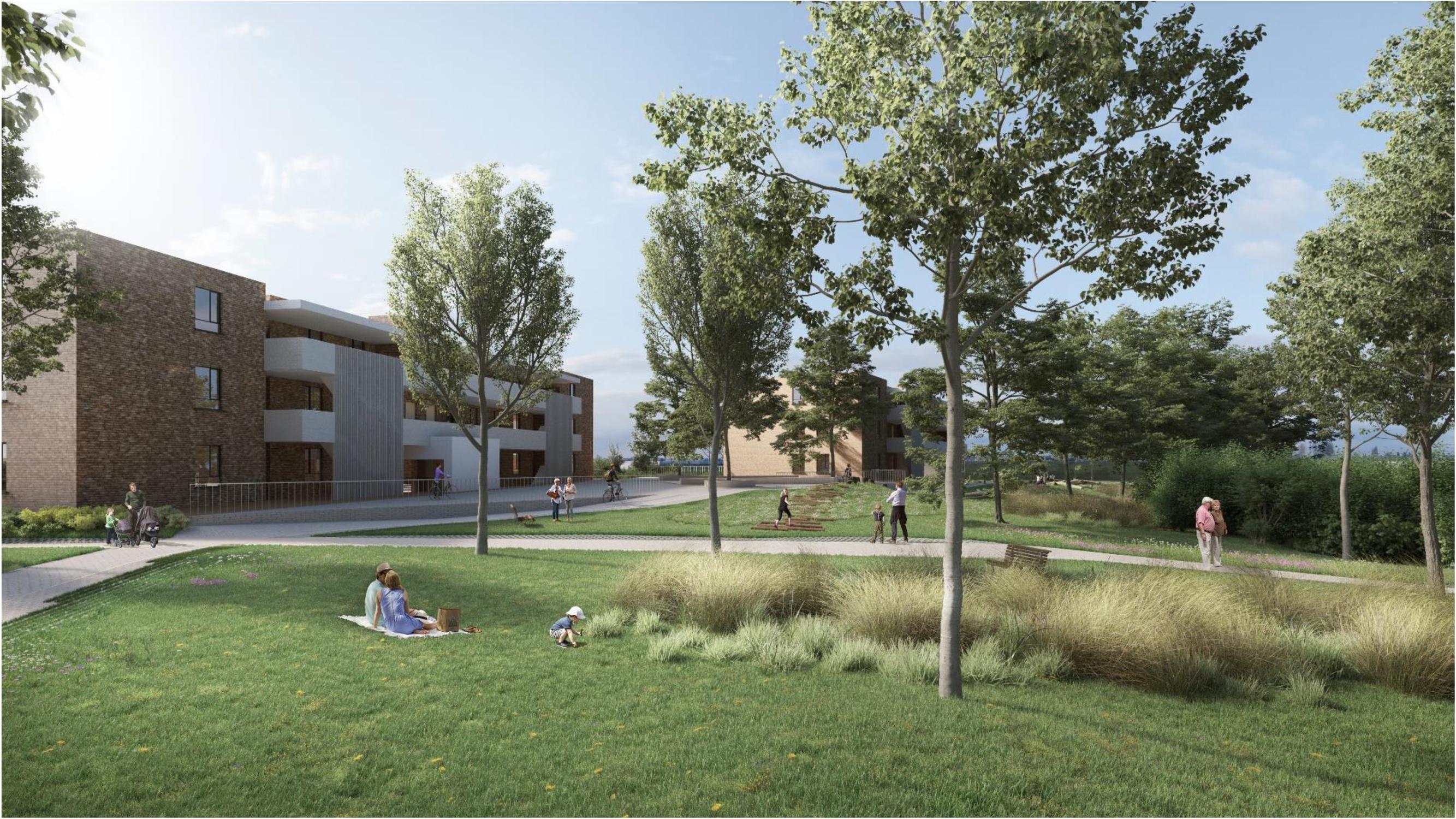 Plannen voor vijftig nieuwe sociale woningen krijgen vorm