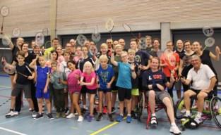 25 uren non-stop badminton ten voordele van ALS Liga