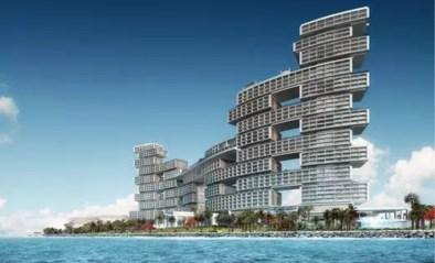 Belgen bouwen giga hotel met 100 zwembaden en 700 kamers in Dubai