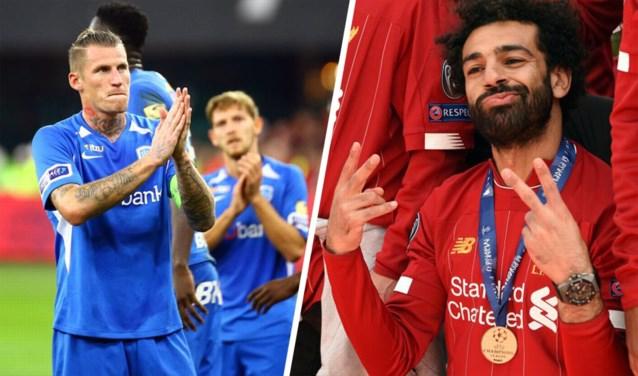 GRAFIEK. Zo groot is het verschil tussen Belgisch kampioen KRC Genk en Engelse topclub Liverpool