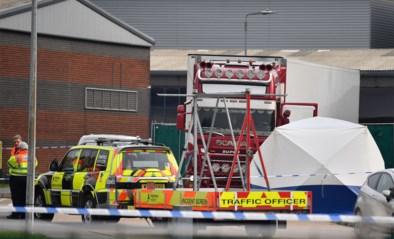 """Britse politie: """"Vrachtwagen met 39 lichamen kwam via Zeebrugge"""""""