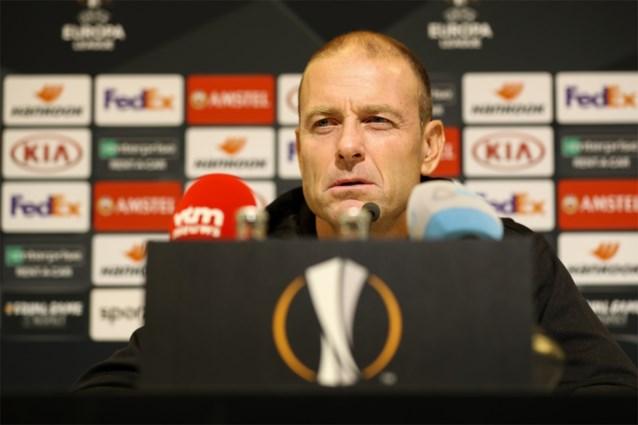 """Thorup: """"We gaan ons eigen spel spelen tegen Wolfsburg"""""""