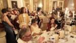 Andy Vermaut ontdekt praat liefdadigheidsfeest in prestigieuze Cercle Gaulois vlotjes in drie talen aan elkaar