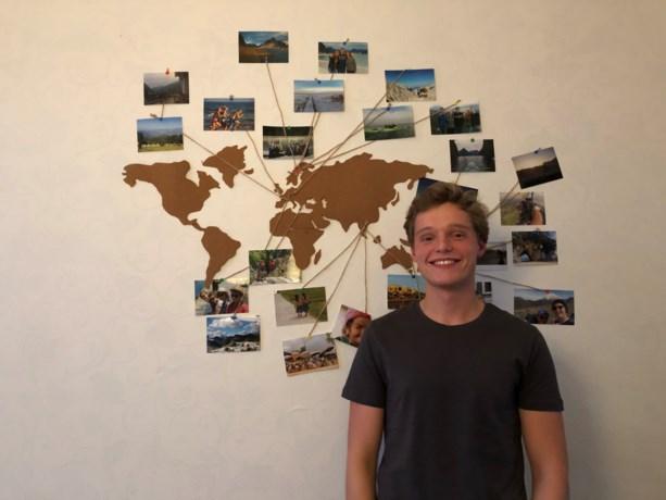 Reisje rond de wereld: Edward (21) droomt van een avontuurlijk leven in het buitenland