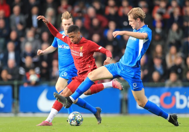 Genkse youngsters gaan tegen Liverpool onderuit in UEFA Youth League