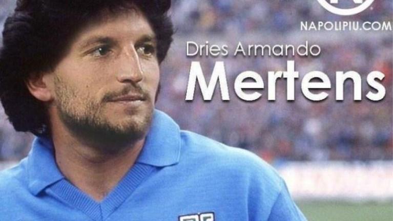 """Dries """"Armando"""" Mertens scoort twee keer voor Napoli en overtreft Diego Maradona"""
