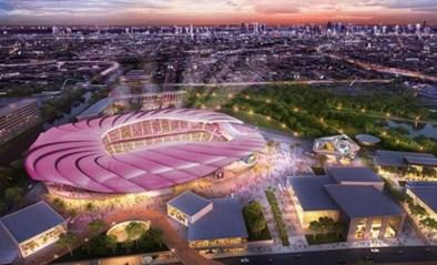 David Beckham onthult plannen voor zijn nieuw voetbalstadion in Miami met palmbomen op het dak