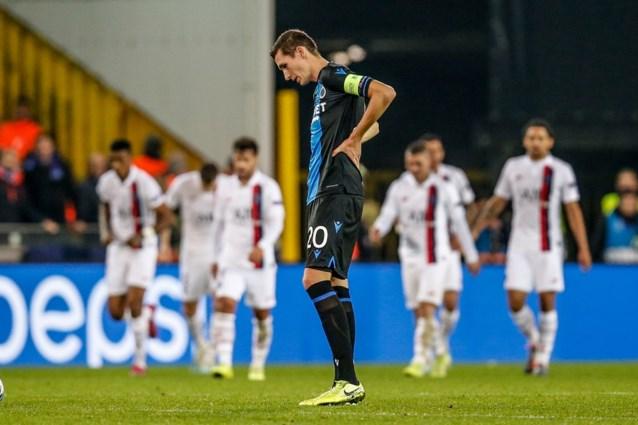 """Zelfs Franse pers vindt 0-5-nederlaag van Club Brugge overdreven: """"PSG heeft toch een tijdlang moeten bibberen"""""""