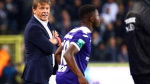 """Frank Vercauteren wil reeks neerzetten met Anderlecht en opent poort voor Vanden Borre (een beetje): """"Ik heb stress nodig"""""""