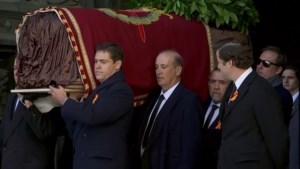 Voormalig Spaans dictator Franco opgegraven en verhuisd