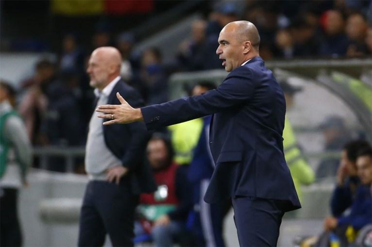 """Bondscoach Roberto Martinez spaart zijn lof voor Romelu Lukaku niet: """"Hij is een echte kameleon-spits"""""""