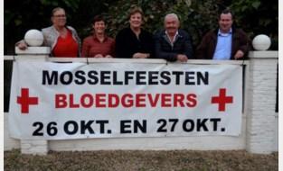 WIN. Bloedgevers organiseren 42ste mosselfeesten