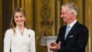 Officiële viering op paleis toont spreidstand van jonge vrouw die óók prinses is: Elisabeth, schipperend tussen twee werelden