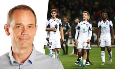 """Onze Chef Voetbal Ludo Vandewalle over bleek paars-wit: """"Anderlecht zal nog meer zo'n matchen spelen dan dat het de tegenstander wegspeelt"""""""
