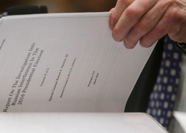 Onderzoek naar Mueller-rapport wordt strafrechtelijk onderzoek