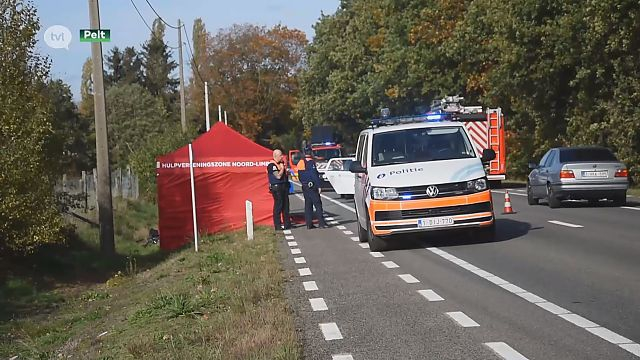 VIDEO. Fietser overleden in Pelt na ongeval