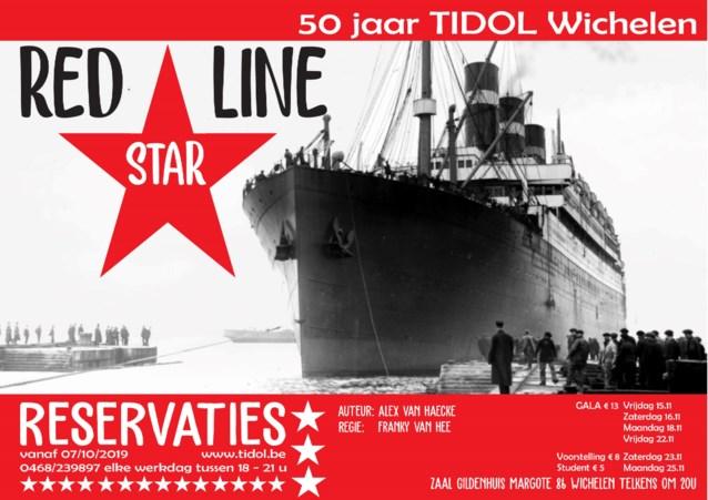 Toneelkring Tidol Wichelen speelt 'Red Star Line'