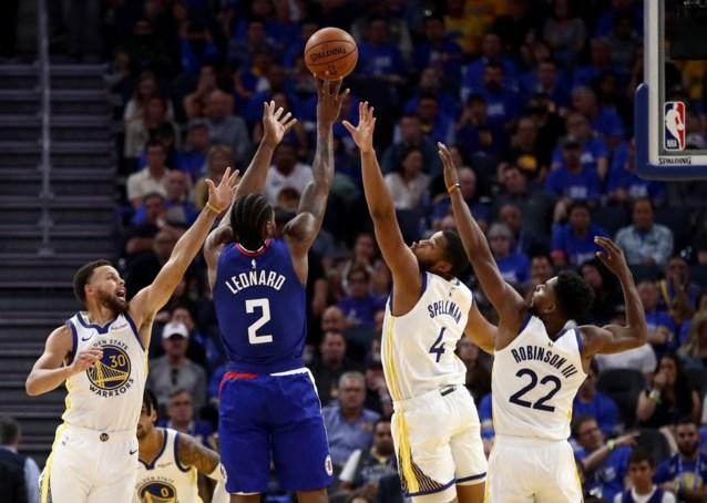 NBA. Clippers en Kawhi Leonard winnen ook tweede topper, MVP Giannis Antetokounmpo meteen op de afspraak
