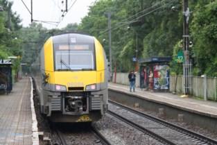 Heel weekend rijden er geen treinen vanwege werf Gewestelijk ExpresNet