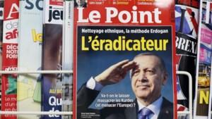 Erdogan dient klacht in tegen Frans tijdschrift dat hem beschuldigt van etnische zuivering